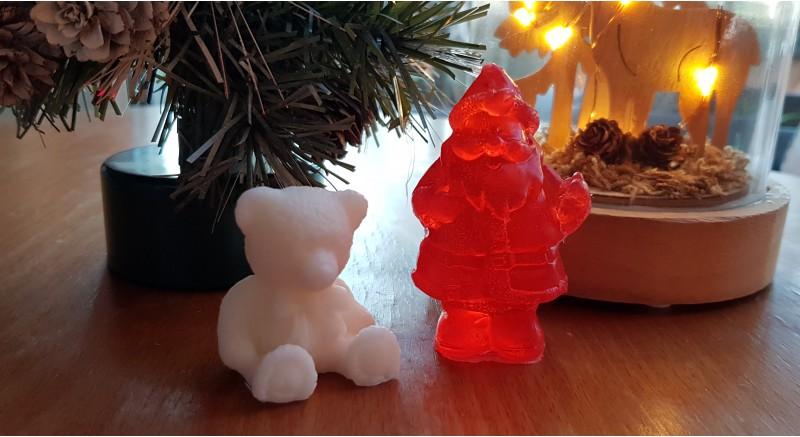 Ayıcık ve Noel Baba Sabunu